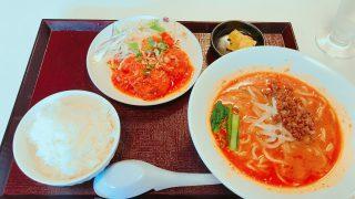 【名店再訪】隼人の坦坦で美味いエビチリと坦々麺のセットを食べてメガドンキに行って来たよ